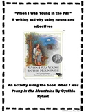 Young in the Fall- A fall poetry activity