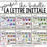 Youpi! Les lettres initales (Beginning Letters) - THE BUNDLE