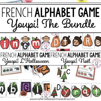 Youpi! Les lettres majuscules et minuscules - THE BUNDLE