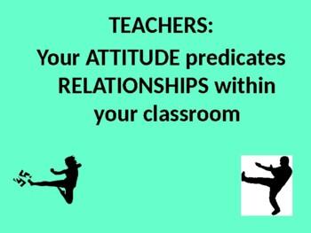 Your ATTITUDE Predicates Positive Relationships!
