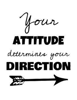 Your ATTITUDE poster