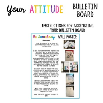 Your Attitude Determines Your Direction Bulletin Board