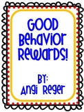 Your Behavior SPARKLES!: Behavior Incentives