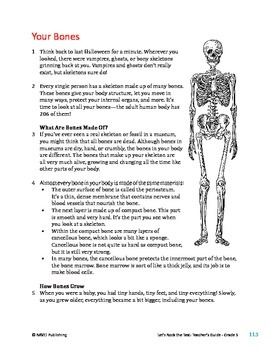 Your Bones - Informational Text Test Prep