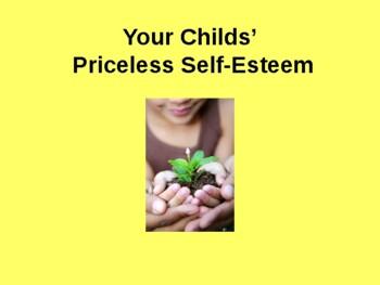 Your Child's Priceless Self-esteem