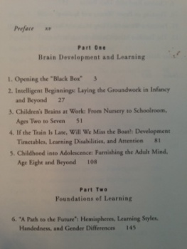 Your Child's Growing Mind, Brain Development/Learning from Birth to Adolescence