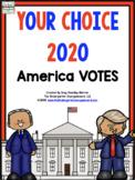 ELECTION Your Choice:  Kindergarten Votes 2020