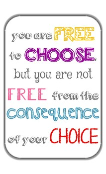 Your Choice Poster
