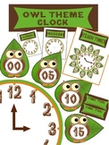Your Classroom Clock ~ OWL Theme ~ Teaching Time