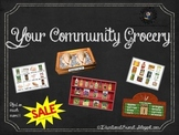 Your Community Grocery Activities Kit (Dramatic Play, Smal