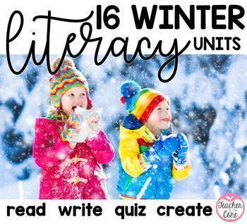 {Literacy All Year} Reading / Fluency Passages with Coordinating Writing and Art