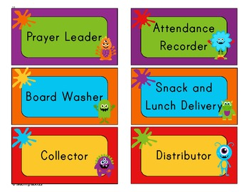 Your Essential Teacher Binder: Classroom Organization Kit (Monsters Theme)