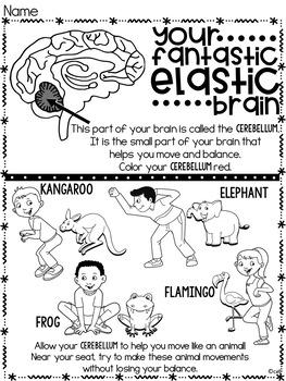 Your Fantastic Elastic Brain Book Study ~ by JoAnn Deak