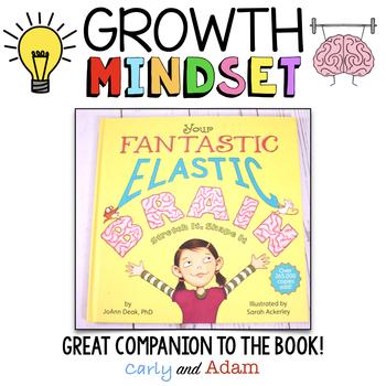 Your Fantastic Elastic Brain Growth Mindset Flip Book