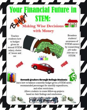 Your Financial Future in STEM: a budget activity