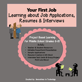 Your First Job: Learning about Job Applications, Resumes & Interviewing
