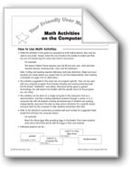 Your Friendly User Manual: Math Activities