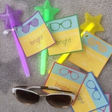 Your Future Is Bright Kid - Favor Tags