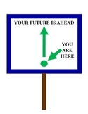 Your Future is Ahead Signs