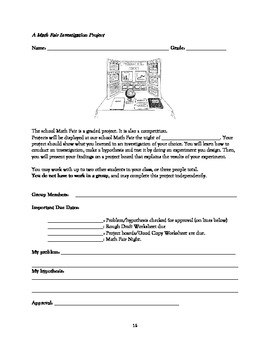 Your Guide to Hosting a Math Fair Event - A Comprehensive, 42 Page Tool Kit!