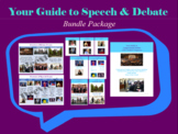 Your Guide to Speech and Debate - BUNDLE!!!!!!