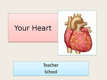 Your Heart - Powerpoint, interactive