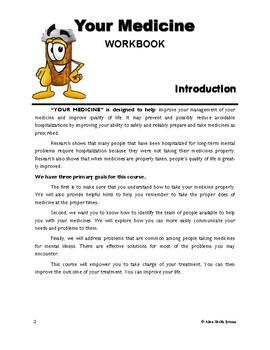 """Your Medicine"" Workbook"