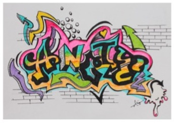 Your Name in Graffiti