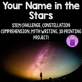 Your Name in the Stars STEM Challenge Constellations & Myt