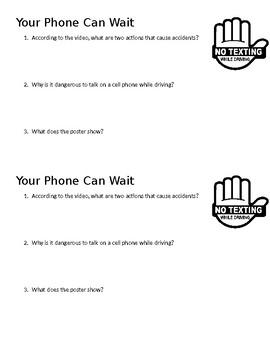 Your Phone Can Wait Mini Quiz