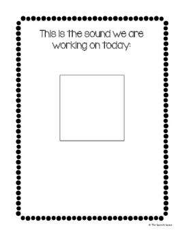 """Your Speech Sounds"" Blackline Posters"