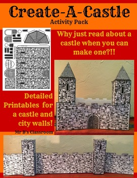 Your Students Can Create-A-Castle! Fun Printables History