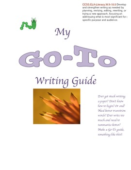Your Students GO-TO Writing Guide!