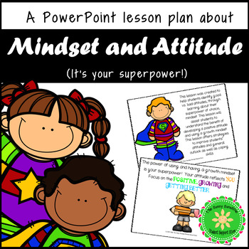Growth Mindset / Positive Attitude Lesson and Presentation