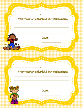 Your Teacher is Thankful