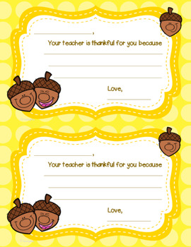 Your Teacher is Thankful