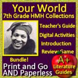 Your World Poem Harlem Renaissance - 7th Grade HMH Collections Bundle - HRW