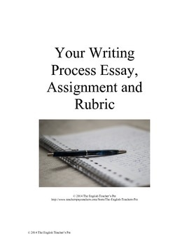How To Make A Persuasive Essay Your Writing Process Essay Essay Example And Rubric Essay For The Great Gatsby also Speech Is Silver Silence Is Golden Essay Your Writing Process Essay Essay Example And Rubric  Tpt Forest Conservation Essay