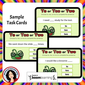Its, It's, Confusing Words Boom Cards Digital Task Cards
