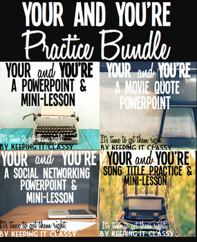 Your and You're Practice Bundle