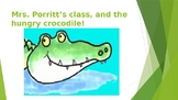 K-2nd grade personalized storybook {The HUNGRY crocodile!}