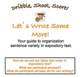 Organization/Sentence Variety - expository text/Participia