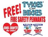 Decorative Fire Lesson Pennants Kids Make! And a Teachers-