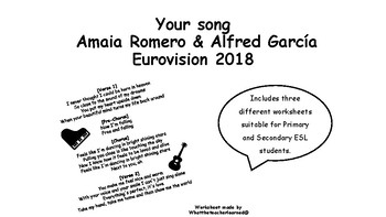 Your song - Amaia & Alfred - Eurovision 2018