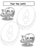 """Your two cents"" Graphic Organizer"