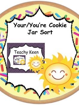 Your/You're Cookie Jar Sort