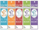 """You're #1 In My Book!"" Bookmarks"