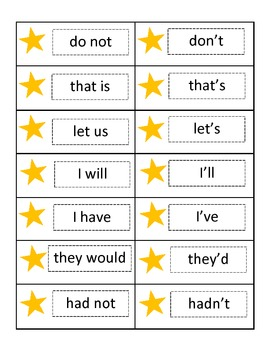 You're A Star!  Contraction Concentration