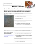 You're Electric!  A Webquest on Electricity