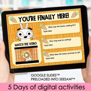 Back to School Activities & First Day of School Printables-You're Finally Here!
